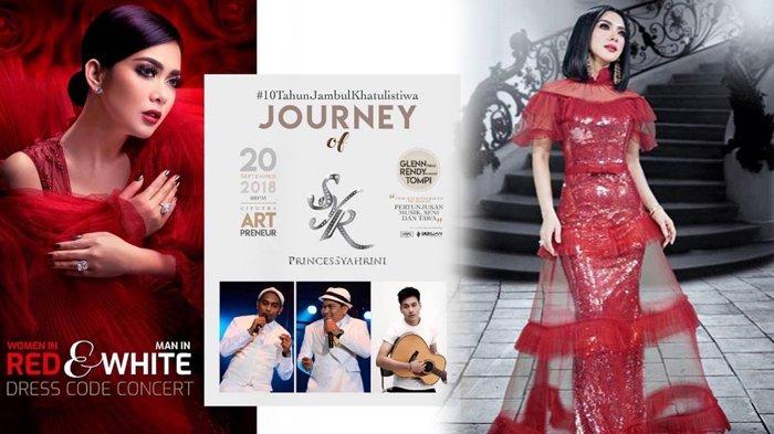 H-1 Konser 'Journey of Syahrini', Princess Syahrini Ungkapkan Persiapannya Hingga Warna Dress Code