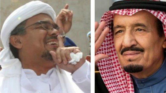 Diperiksa Polisi Arab Saudi, Habib Rizieq Shihab Alami Demam dan Flu Berat