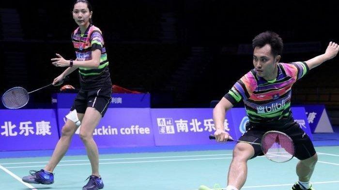 HASIL Thailand Open II Kamis 21 Januari: Hafiz/Gloria Lolos Perempat Final, Anthony Ginting Tersisih