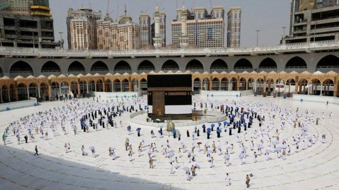 Cerita Haji 2021, Dari Kerikil Steril hingga Sterilisasi Masjid 10 Kali, Sementara Nihil Covid