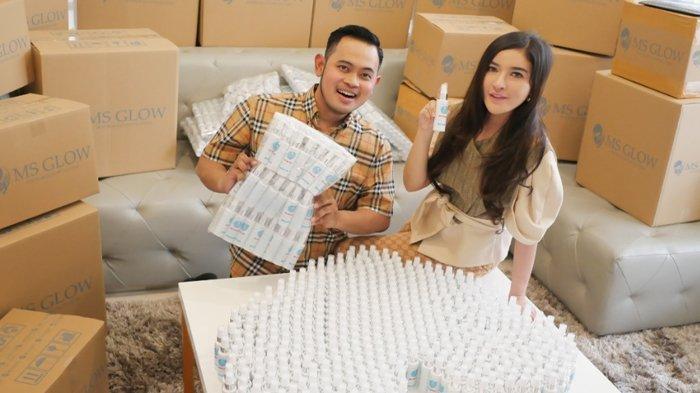 Produsen Kosmetik MS Glow Gelontorkan Rp 2 Miliar Bantu Atasi Virus Corona