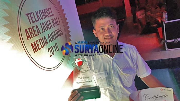 Tulis Anak Muda Kreatif di Banyuwangi, Harian Surya Juara Nasional Anugerah Jurnalistik Telkomsel