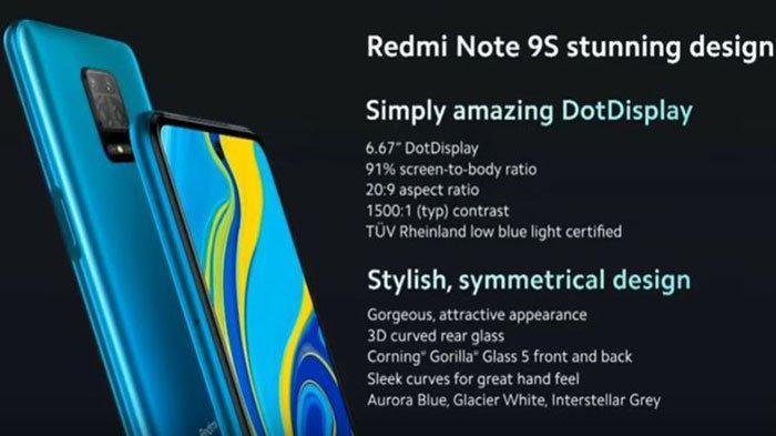 Harga Xiaomi Redmi Note 9S Rp 3 Jutaan di Malaysia, Spesifikasinya Saingi Redmi Note 9 Pro