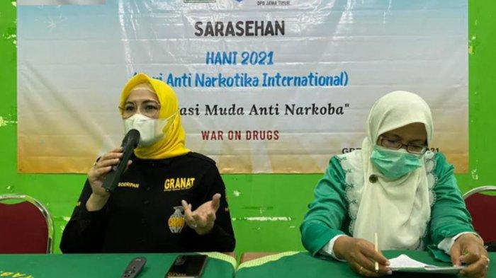 Granat Jatim Sebut Indonesia Sudah Masuk Perang Lawan Narkoba