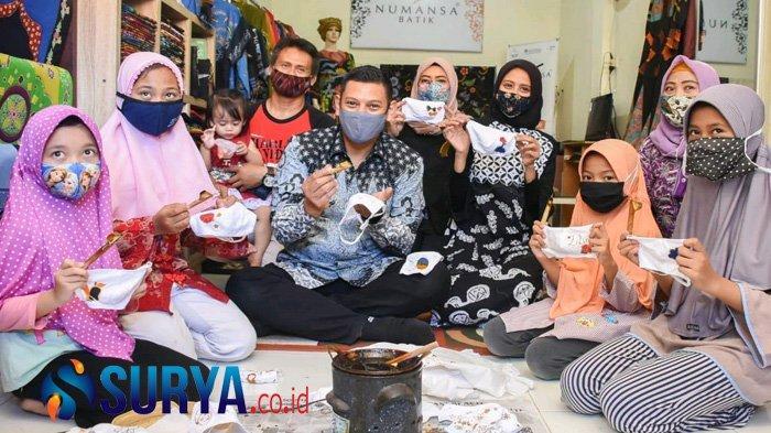 Dekranasda Kediri Perkuat Kecintaan Anak-Anak Membatik di Hari Batik Nasional