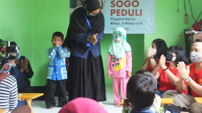 Peringati Hari Gizi Nasional, Yayasan Seribu Senyum dan Sogo Salurkan Bantuan Nutrisi dan Sembako