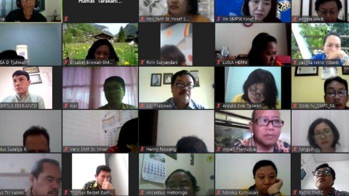 Pengembangan SDM Guru Dalam Masa Pandemi Melalui Virtual Hari Studi Guru Tarakanita