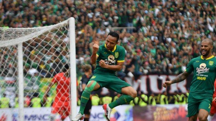 HASIL AKHIR Persebaya vs Persija Babak Pertama 1-1, Gol Bajul Ijo Dicetak Oktafianus Fernando