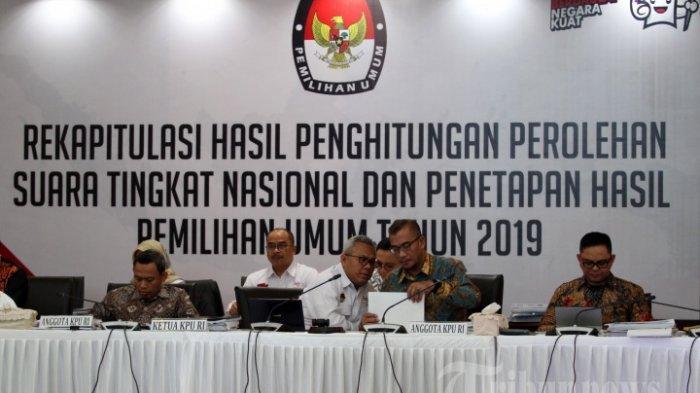 Hasil Akhir Pilpres 2019 Setelah Rekapitulasi Nasional KPU, Jokowi Menangi 21 Provinsi, Prabowo 13
