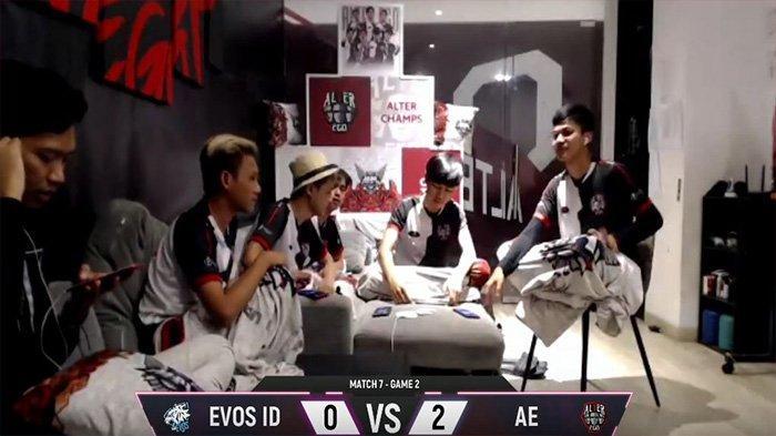 Hasil MPL Invitational: EVOS Legeds Langsung Tersingkir Usai Dikalahkan Alter Ego 2-0 Tanpa Balas