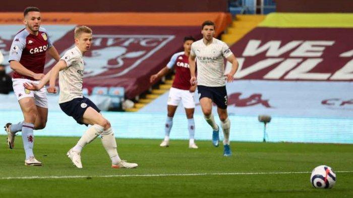 Hasil Aston Villa vs Man City: 1-2, Drama Dua Kartu Merah, The Citizens Raih Kemenangan Penting