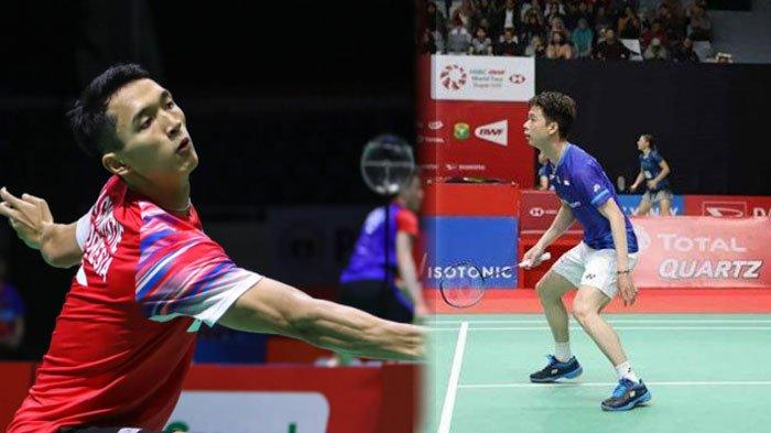 HASIL Badminton All England Open 2020, Jonatan Christie & Anthony Ginting Angkat Koper