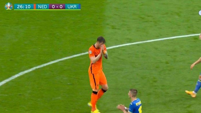 Skor Belanda vs Ukraina di Babak I: Kiper Buschan Tampil Gemilang, Oranje Kesulitan Cetak Gol