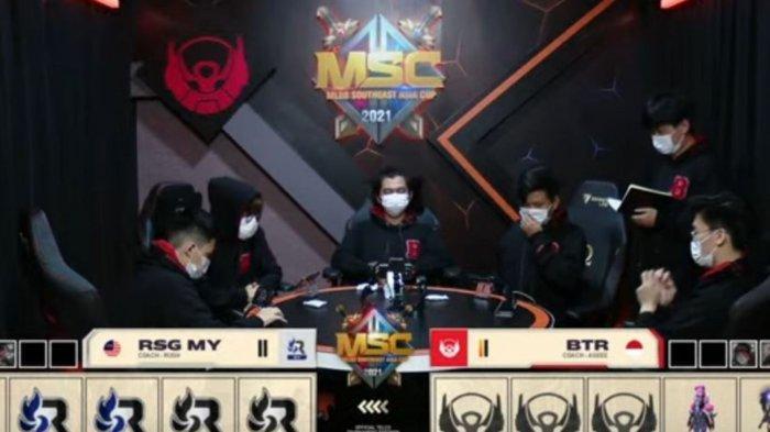 Hasil Playoff MSC 2021: Kalah di Laga Sengit Melawan RSG MY Malaysia, Bigetron Alpha Tereliminasi
