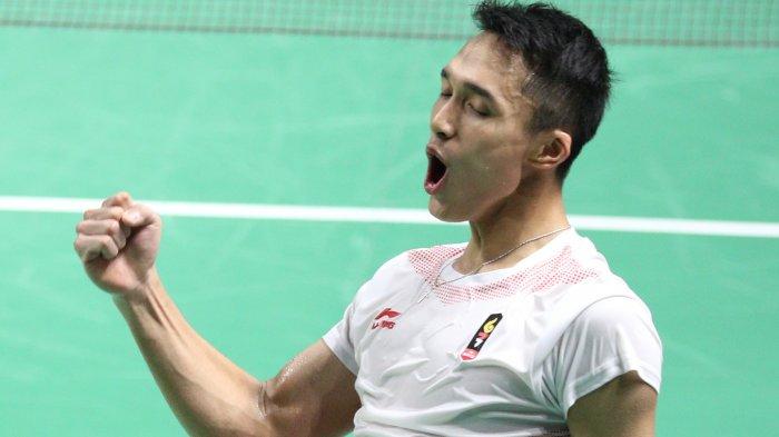 Hasil China Open 2018 - Jonatan Chistie Butuh Waktu 1 Jam untuk Rebut Tiket ke Babak Kedua