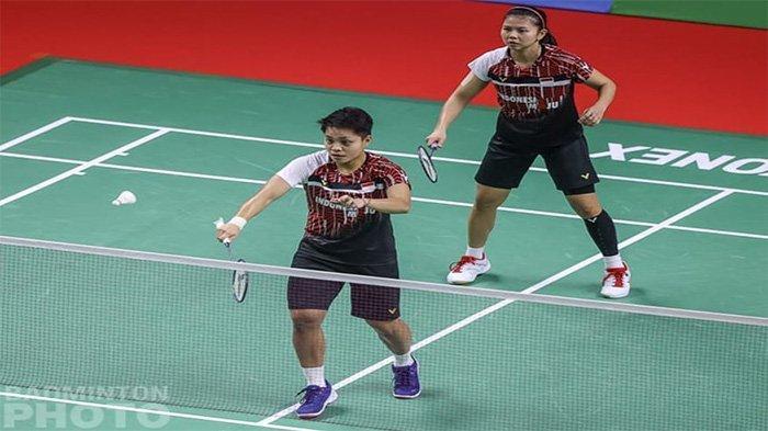 LENGKAP Hasil BWF World Tour Finals Hari Ini: Greysia/Apriyani dan Ahsan/Hendra Menang Ketat