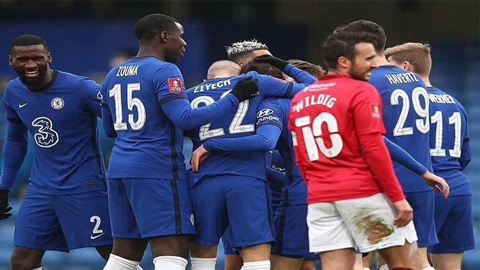 Jadwal FA CUP Malam Ini: Big Match Chelsea vs Man City, Berebut Tiket ke Babak Final
