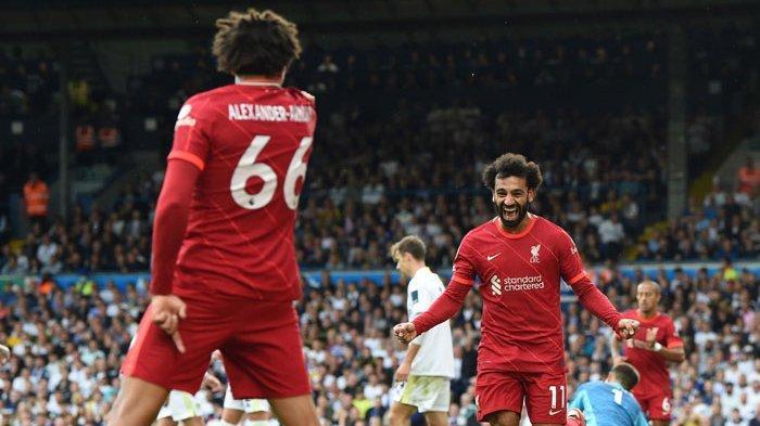 Hasil dan Kalsemen Liga Inggris - Mohamed Salah Cetak 100 Gol Bersama Liverpool di Premier League