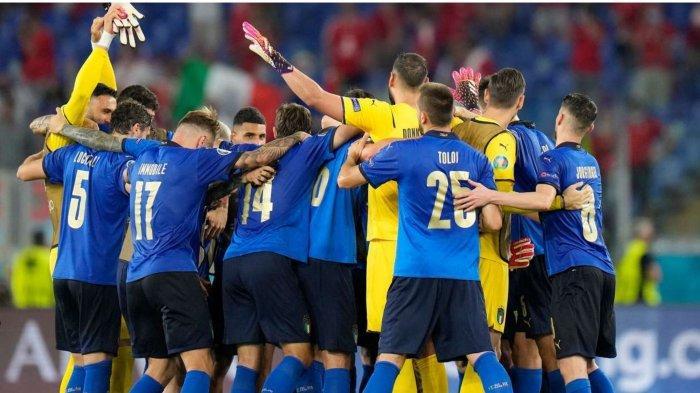 Hasil dan Klasemen Euro 2020: Italia & Wales Menang, Gli Azzurri Kunci Tiket 16 Besar