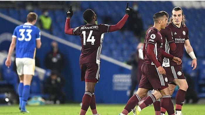 Hasil dan Klasemen Liga Inggris: Leicester Menang, Arsenal Imbang, The Foxes Geser Man United