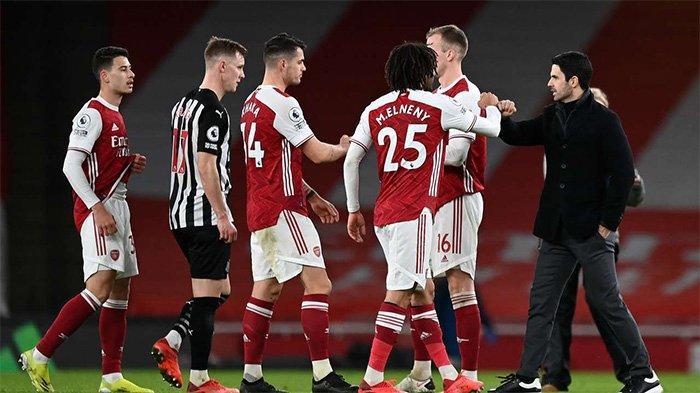 Hasil dan Klasemen Liga Inggris: Arsenal Kalahkan Newcastle, The Gunners Perbaiki Posisi