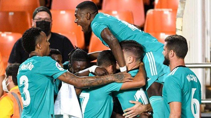 Hasil dan Klasemen Liga Spanyol - Real Madrid Kuasai Puncak Usai Menang Dramatis dari Valencia