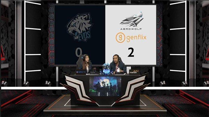 Genflix Aerowolf berhasil mengalahkan EVOS Legends 2-0 Tanpa Balas