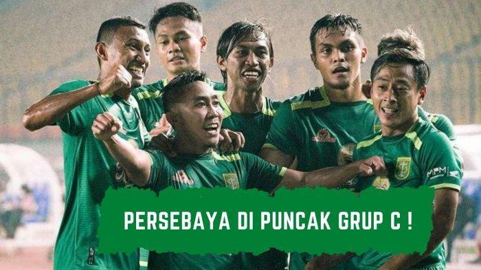 Persebaya jadi Pemuncak Klasemen Grup C setelah memenangi dua laga yang mereka lakoni di Piala Menpora 2021