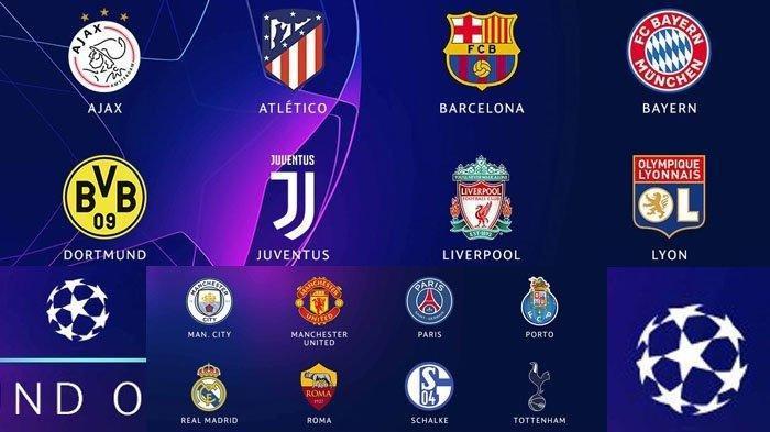 Hasil Drawing Babak 16 Besar Liga Champions Bisa Dilihat di UEFA.com Mulai Jam 18.00 WIB