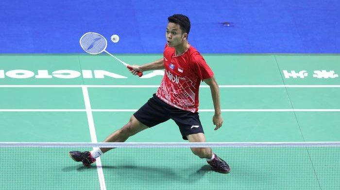 Hasil Final China Open 2019, Anthony Ginting Jadi Runner-up Usai Dikalahkan Kento Momota