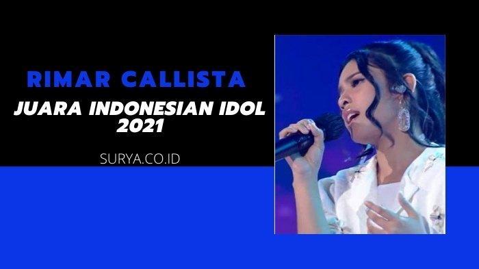 Rimar Callista di babak Spektakuler Show. Kini ia merupakan juara Indonesian Idol 2021