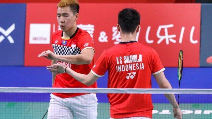 Hasil Final Indonesia Masters 2020 Ganda Putera: The Minions, Marcus Gideon dan Kevin Sanjaya Menang