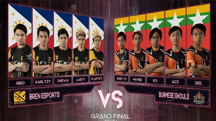 Hasil Grand Final M2 World Championship: Bren Esports Juara Usai Taklukkan Burmese Ghouls 4-3