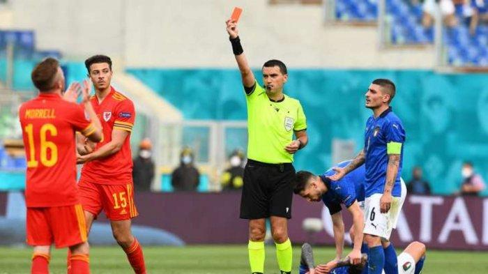 Hasil Skor Italia vs Wales 1-0: Gol Pessina Jadi Pembeda, Gli Azzurri Kunci Posisi Juara Grup A