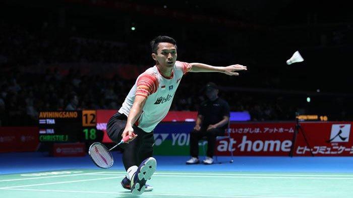 Hasil Japan Open 2019 - Jonatan Christie & Anthony Ginting Sukses Melaju ke Perempat Final