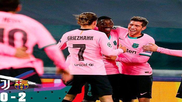 Hasil Juventus vs Barcelona, Skor Akhir 0-2: Drama Kartu Merah dan Trigol Alvaro Morata Dianulir VAR