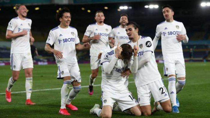 Hasil Skor Leeds vs Liverpool: 1-1, Gol Diego Llorente di Menit Akhir Buyarkan Kemenangan The Reds