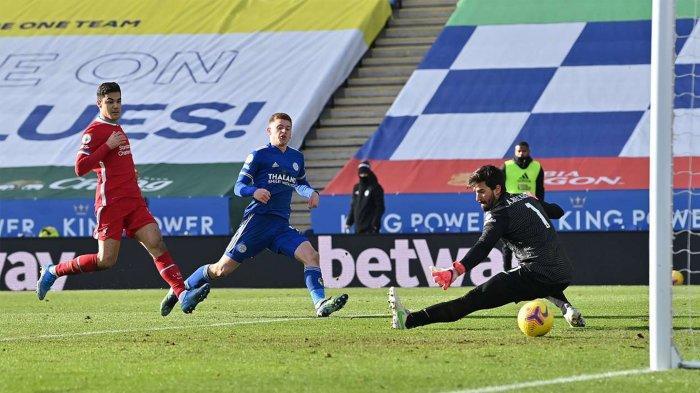 Hasil Leicester vs Liverpool: Skor Akhir 3-1, Alisson Blunder Lagi, The Reds Telan Kekalahan