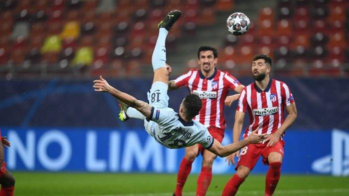 Hasil Atletico vs Chelsea: Skor Akhir 0-1, Gol Salto Olivier Giroud Kunci Kemenangan The Blues