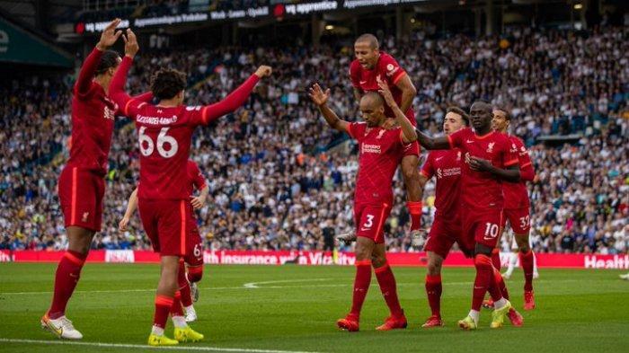Hasil Liga Inggris - Liverpool Pesta Gol di Laga yang Diwarnai Tekel Horor ke Wonderkid The Reds