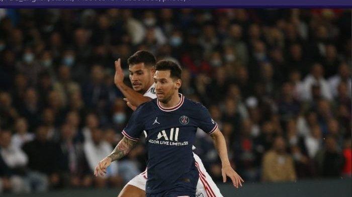 Hasil Liga Prancis - Lionel Messi Belum Mampu Buat Gol untuk PSG