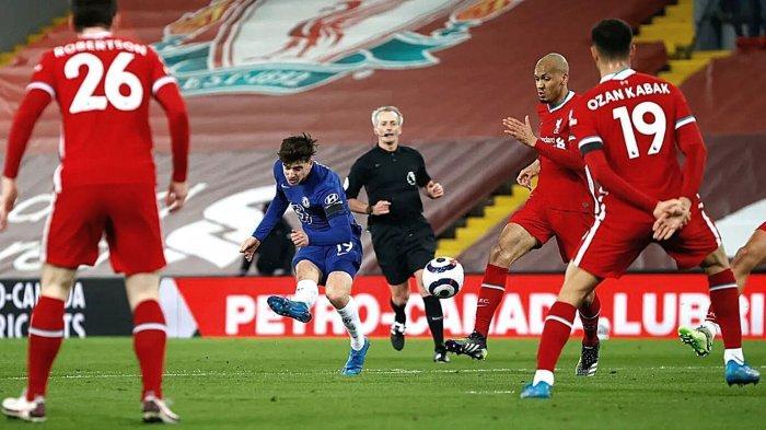Hasil Liverpool vs Chelsea: Skor Akhir 0-1, The Blues ke Posisi Empat Klasemen Liga Inggris