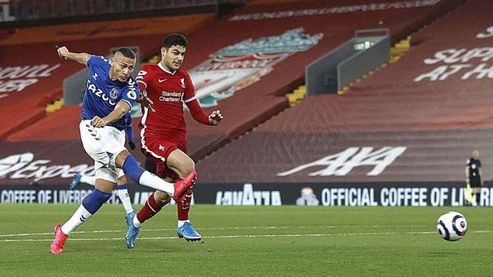 Hasil Liverpool vs Everton: Skor Akhir 0-2, The Reds Kalah Memalukan di Derbi Merseyside