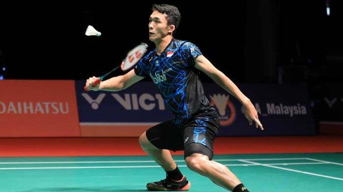 Hasil Malaysia Masters 2019 - Jonatan Christie Menyerah di Tangan Chen Long di Babak Kedua