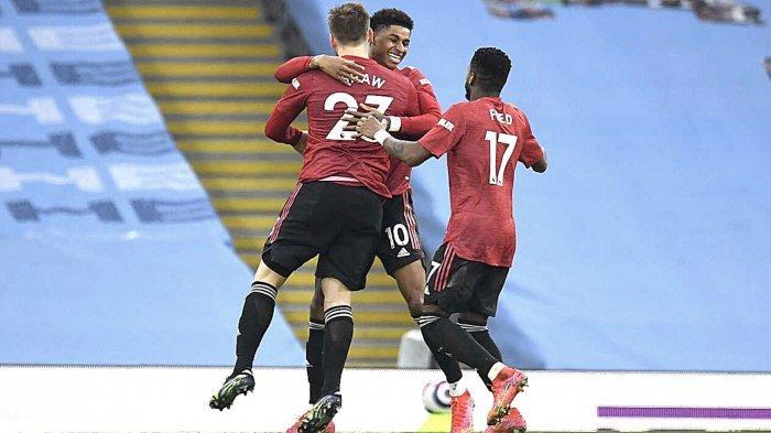 Hasil Man City vs Man United, Skor 0-2: Setan Merah Beri Kekalahan Perdana Bagi Citizens di 2021