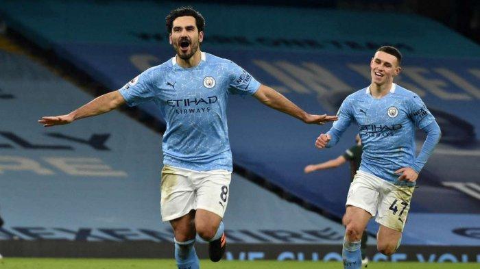 Hasil Man City vs Tottenham: Skor Akhir 3-0, Dwigol Gundogan Benamkan Spurs