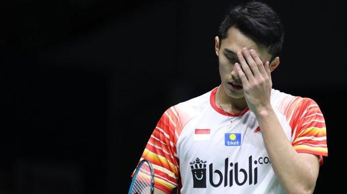 Jonatan Chistie Ungkap Penyebab Kekalahan Dirinya saat Indonsia vs Taiwan di Piala Sudirman 2019