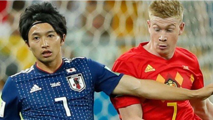 Hasil Piala Dunia 2018 Belgia vs Jepang, Skor Fantastis Sementara 2-0 untuk Tim Samurai Biru