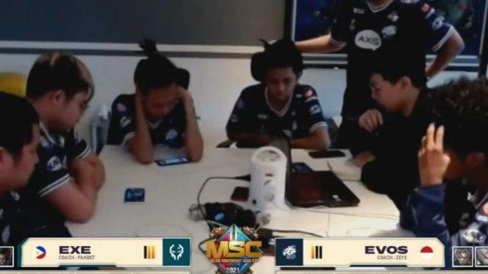 Hasil Playoff MSC 2021: Execration Tundukkan EVOS Legends, Harapan Indonesia Masuk Grand Final Pupus