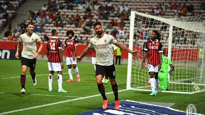 Hasil Pramusim Klub Eropa, Gol Perdana Giroud di AC Milan dan Barcelona & Juventus Menang